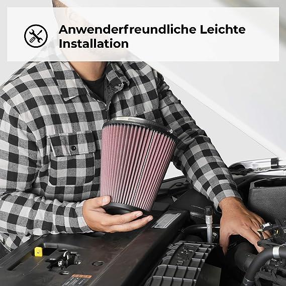 K N Rc 2340 Kfz Und Motorrad Universal Chrom Filter Auto
