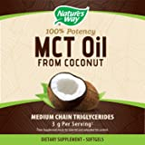 Nature's Way MCT Oil Softgels, 3 g of MCTs per