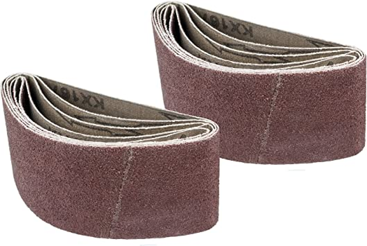 Mirka 57-2.5-14-120 2.5-Inch by 14-Inch Portable Abrasive Belt by Weight Cloth 5 Pieces