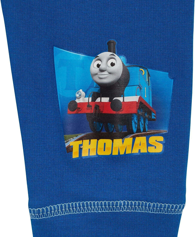 Boys Thomas The Tank Engine Full Length Pyjamas Kids Character Pjs Nightwear
