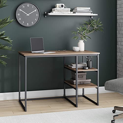 Best modern office desk: Nathan James Carson Industrial Small Home Office