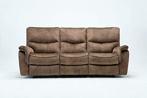 Blackjack Furniture 7167 Charlton Collection Palomino Modern Reclining Living Room - the best living room sofa for the money