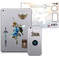 Controller Gear The Legend of Zelda: Breath of the Wild - Character Tech Decal Pack - Bow and Arrow - Nintendo Wii; GameCube