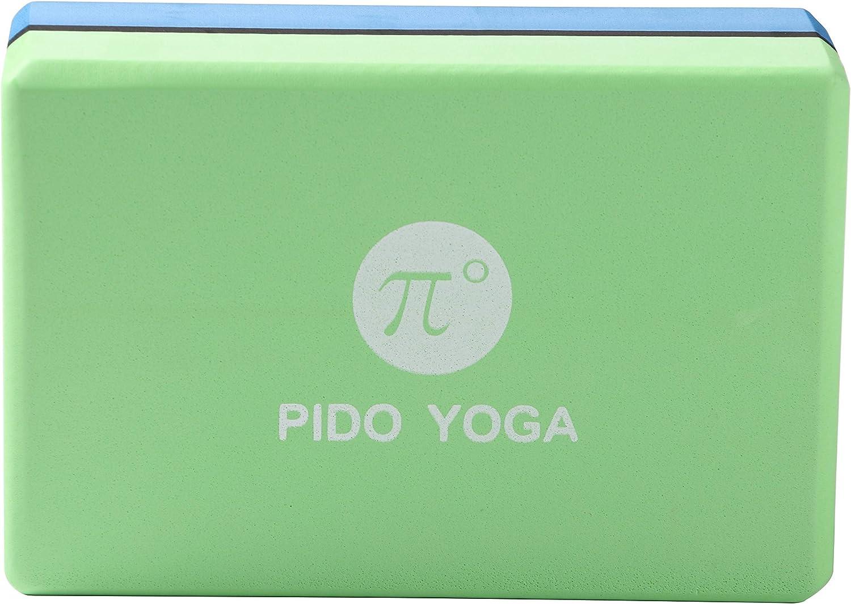 wwww pido Yoga Blocks High Density EVA Foam Block, Lightweight and Odor Resistant, Non-Slip Surface for Yoga, Pilates, Meditation Best Gift for ...