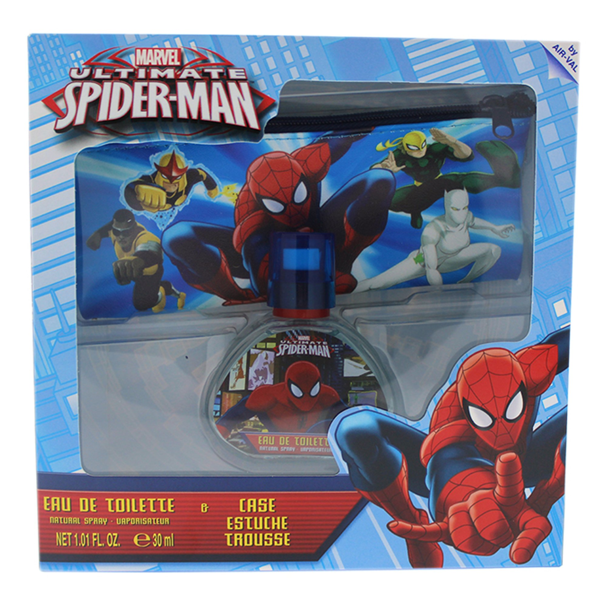 Marvel Ultimate Spider Man for Kids 2 Piece Gift Set with Edt Spray and Case