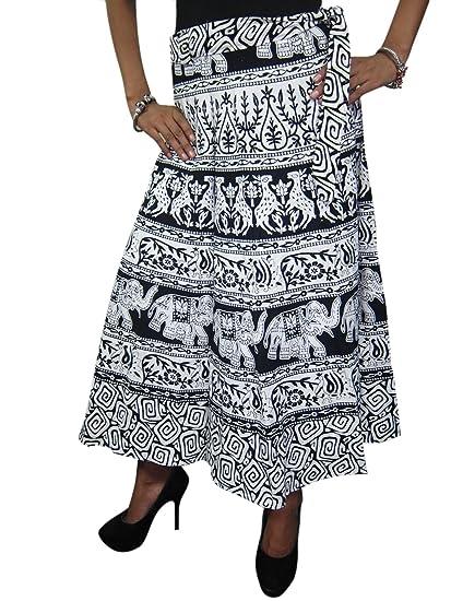 indios falda del abrigo elefantes playa de la impresión abrigo alrededor del vestido de regalo de