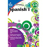 Carson Dellosa – Skill Builders Spanish I Workbook, for Grades 6–8, 80 Pages With Answer Key