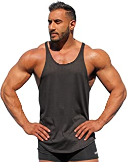 product image for Physique Bodyware Mens Y Back Stringer Tank Top. Made in America