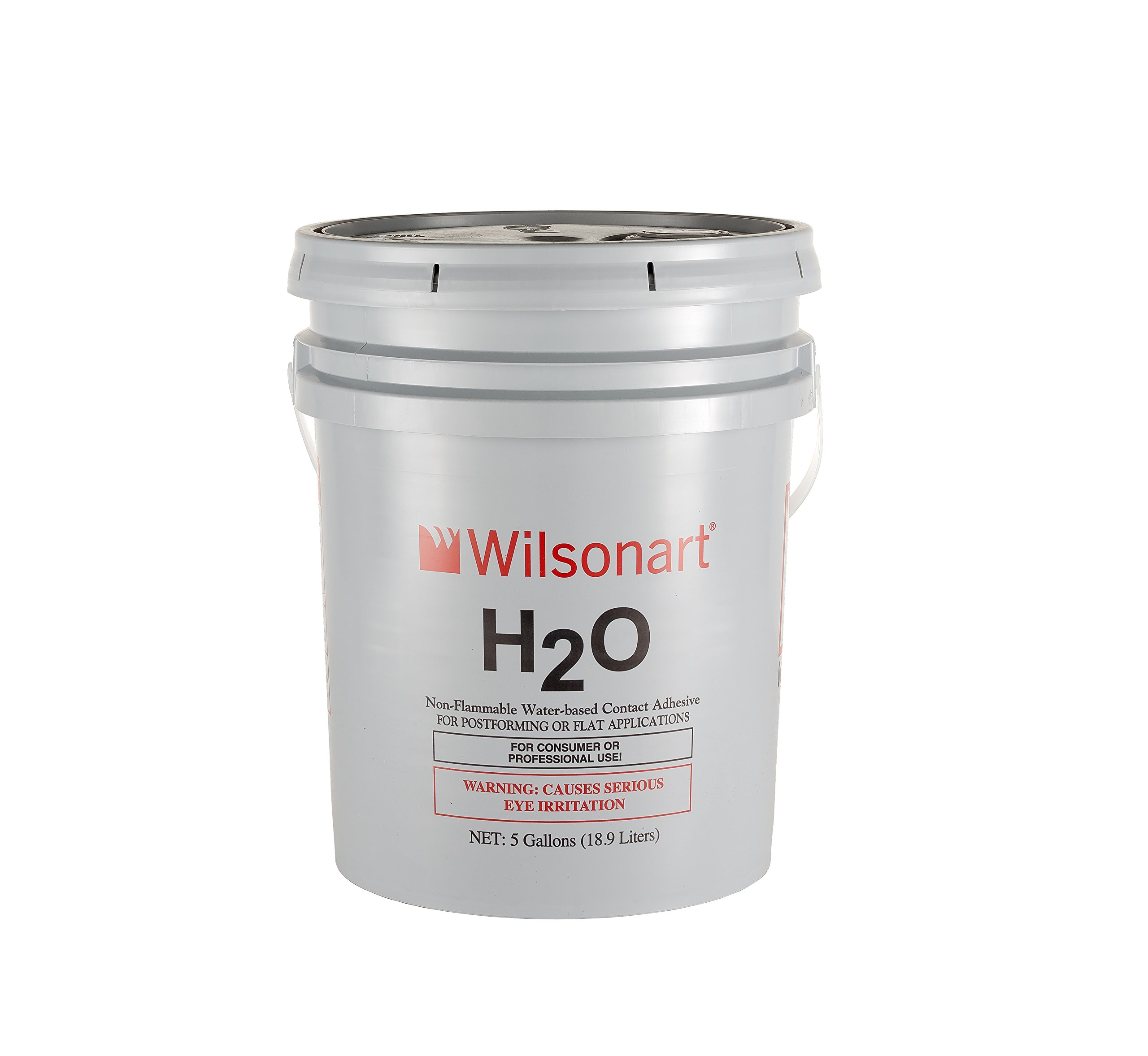 Wilsonart H2O Water-Based Low VOC Nonflammable Contact Adhesive - 5 Gallon