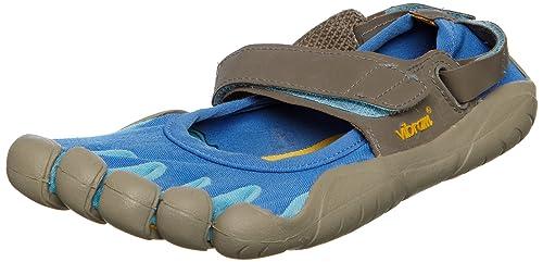 Vibram Fivefingers Escarpines Multisport W116 Sprint Azul/Gris EU 40: Amazon.es: Zapatos y complementos