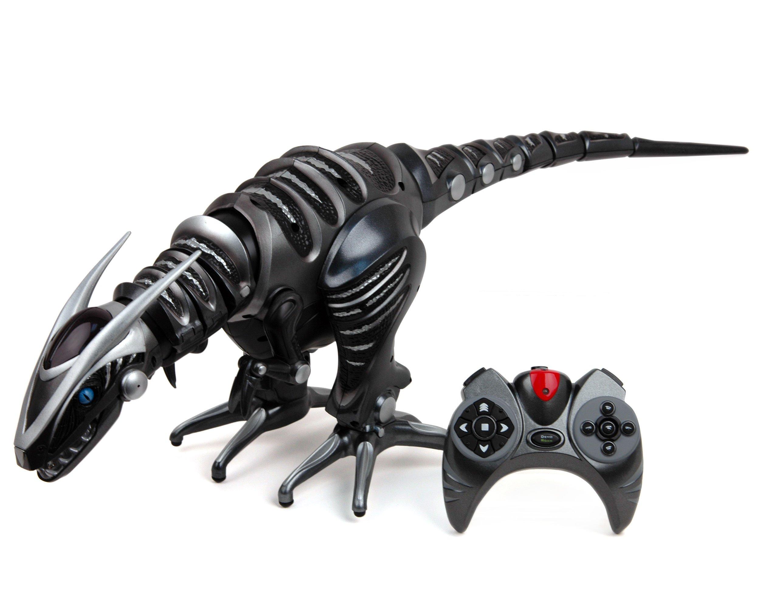 WowWee Roboraptor Toy, Metallic Black by WowWee (Image #1)