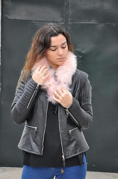 chaquetas de cuero de mujer moderna, chaquetas de cuero madrid