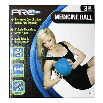Pro Strength - Balón Medicinal (1,36 kg, con Superficie de Agarre ...