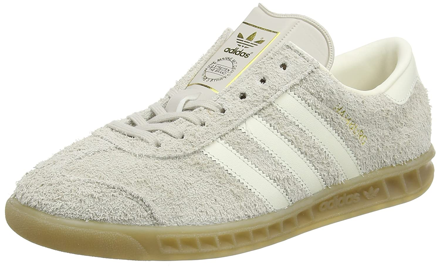 reputable site 95400 dc950 Amazon.com   adidas Originals Hamburg Womens Leather Sneakers Shoes-Brown-6    Fashion Sneakers