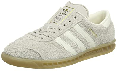 save off 87c46 064df adidas Womens Hamburg Trainers, (Clear BrownOff WhiteGum), 4