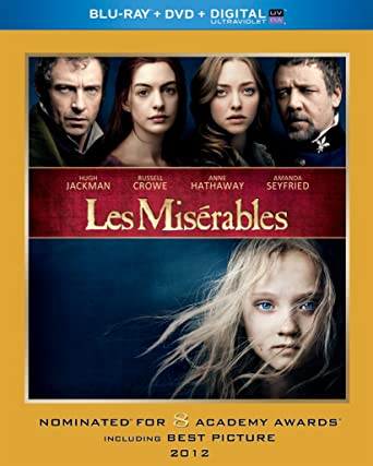 Amazon com: Les Miserables (2012) (Blu-ray + DVD + Digital