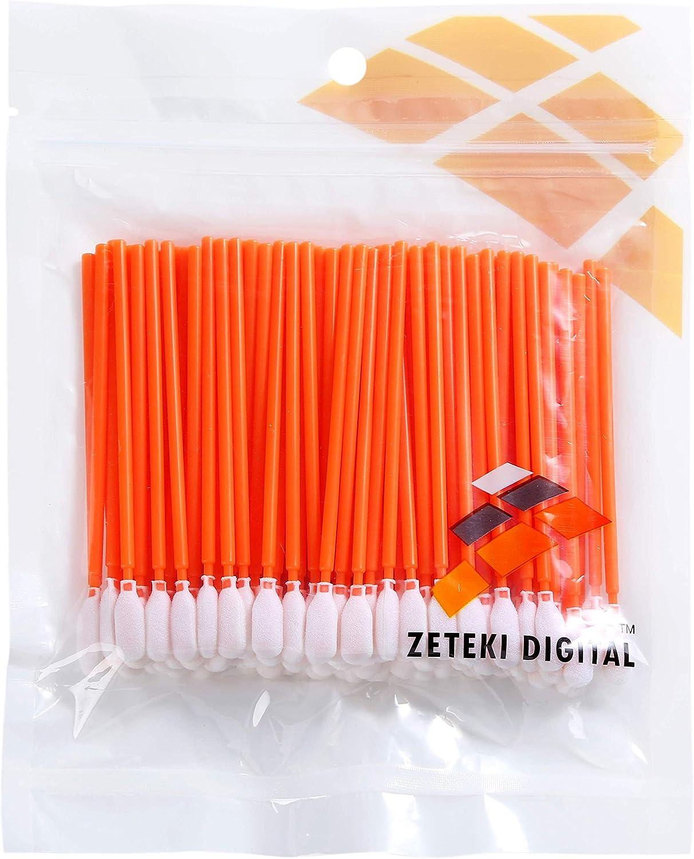 Amazon.com: zetek 100pcs punta de espuma de limpieza ...