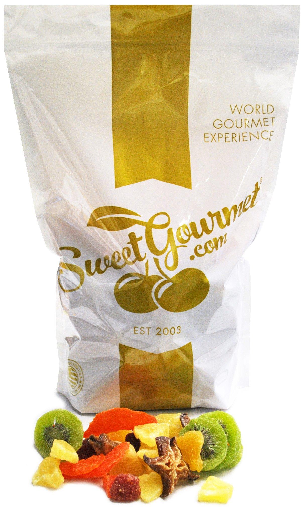 SweetGourmet Tropical Dried Fruit Salad (7Lb) by SweetGourmet (Image #1)