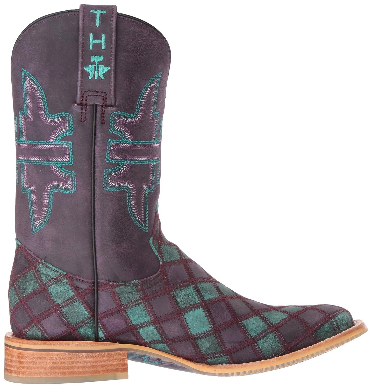Tin Haul Shoes Women's Chevron Western Boot B01CUDCK48 7 D US|Multi