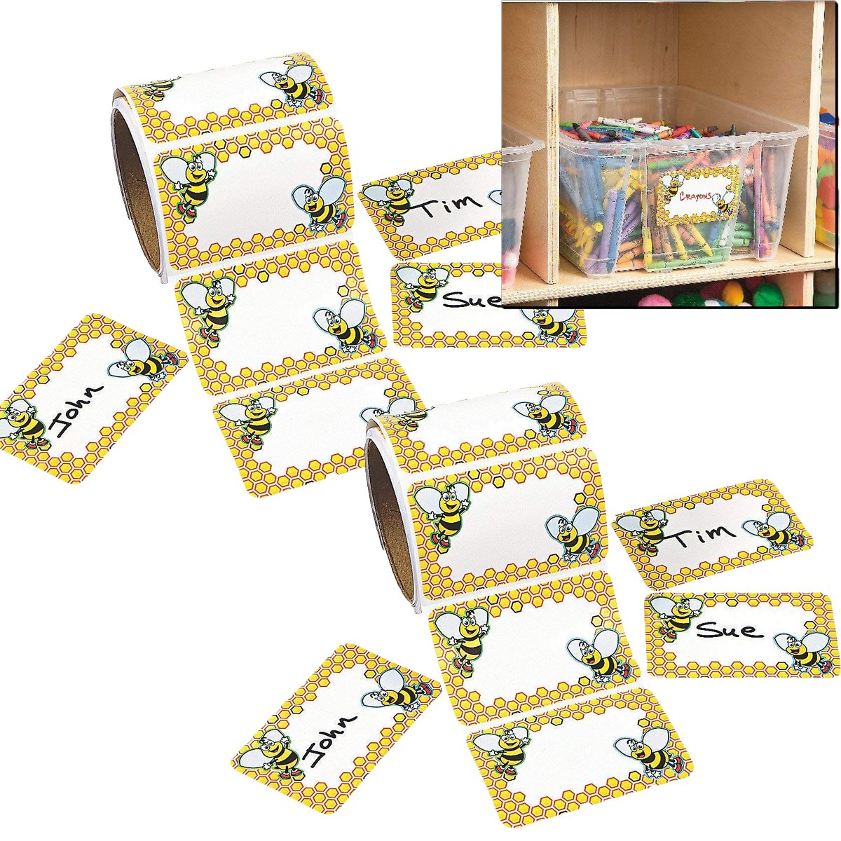 Stickers Fun Express 1 Piece Stickers Lt Blue Ribbon Roll Stickers Roll Stationery