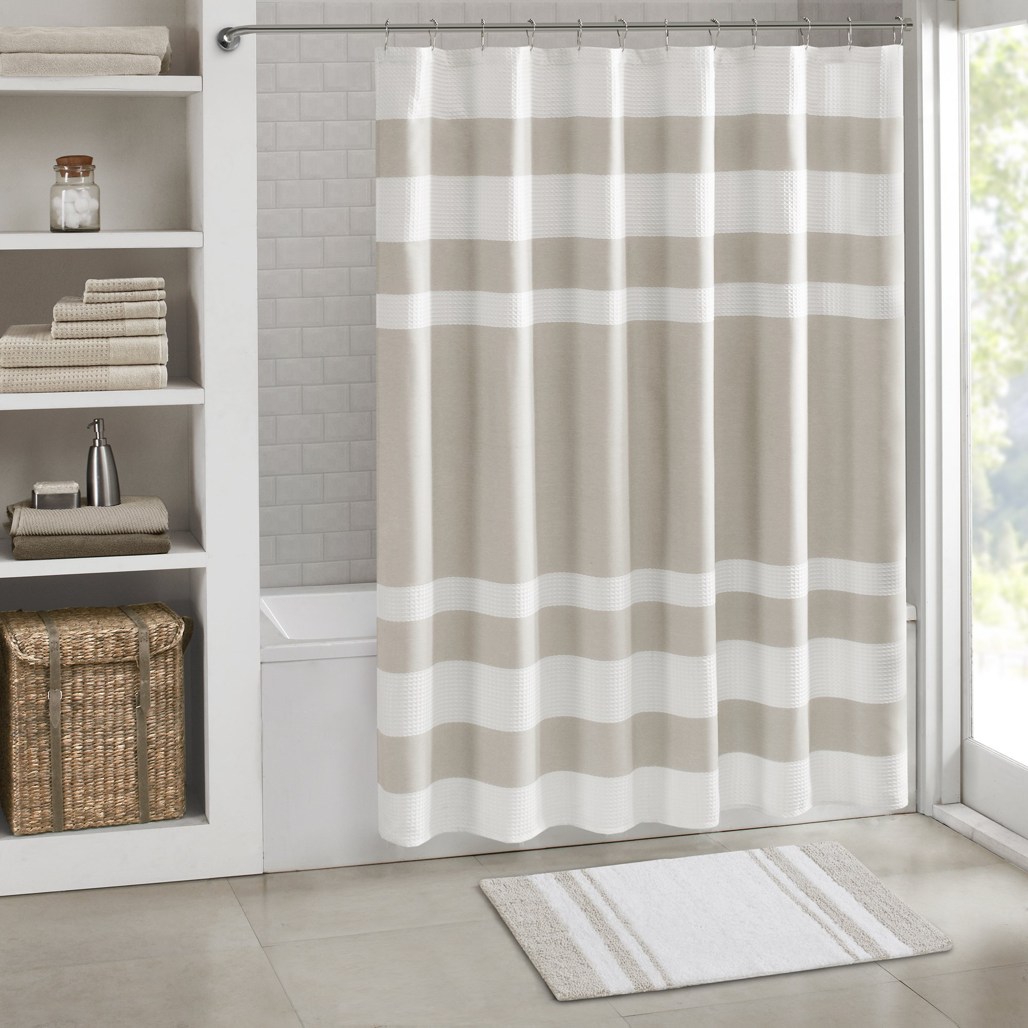 Reversible Bathroom Mats: Reversible Cotton Bath Rugs: Amazon.com