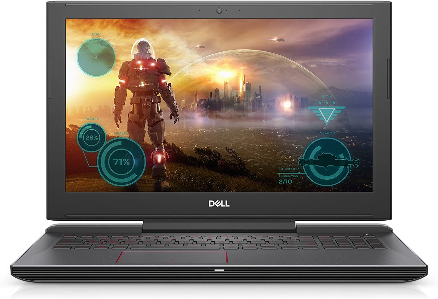"Dell Gaming Laptop G5587-5859BLK-PUS G5 - 15.6"" LED Anti-Glare Display - 8th Gen Intel i5 Processor - 8GB Memory - 128GB SSD+1TB HDD - NVIDIA GeForce GTX 1060 6GB, Licorice"