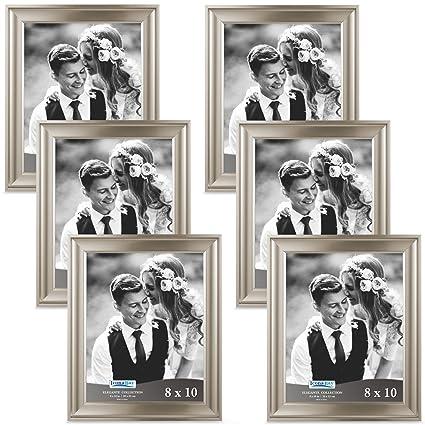 Amazon.com - Icona Bay 8x10 Picture Frames (8 x 10, Set of 6 ...