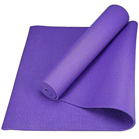 Wenquan,Cojín de Yoga Antideslizante de PVC Estera de Yoga ...
