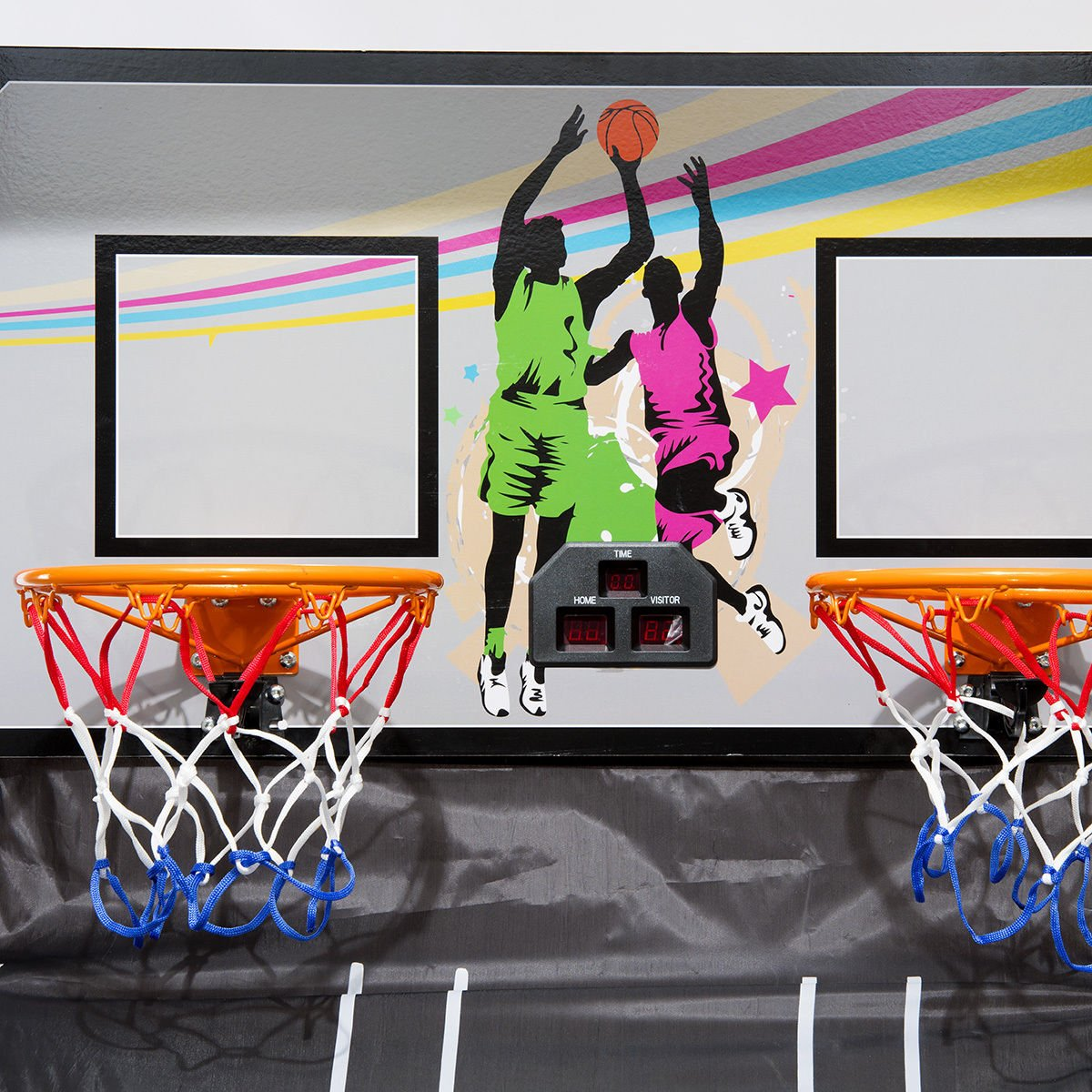 Eight24hours Indoor Basketball Arcade Game Double Electronic Hoops shot 2 Player 4 Balls + FREE E - Book by Eight24hours (Image #3)