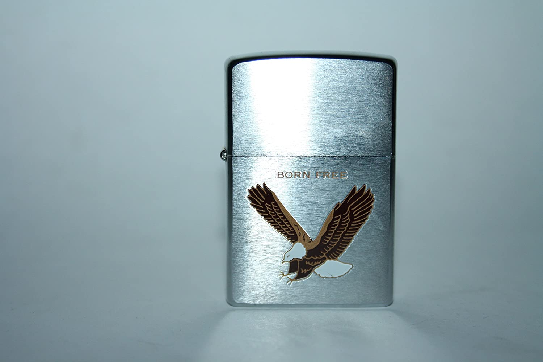 Born Free Eagle Zippo Feuerzeug