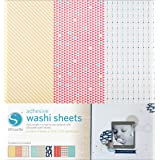Silhouette Adhesive Patterned Washi Sheets for Scrapbooking
