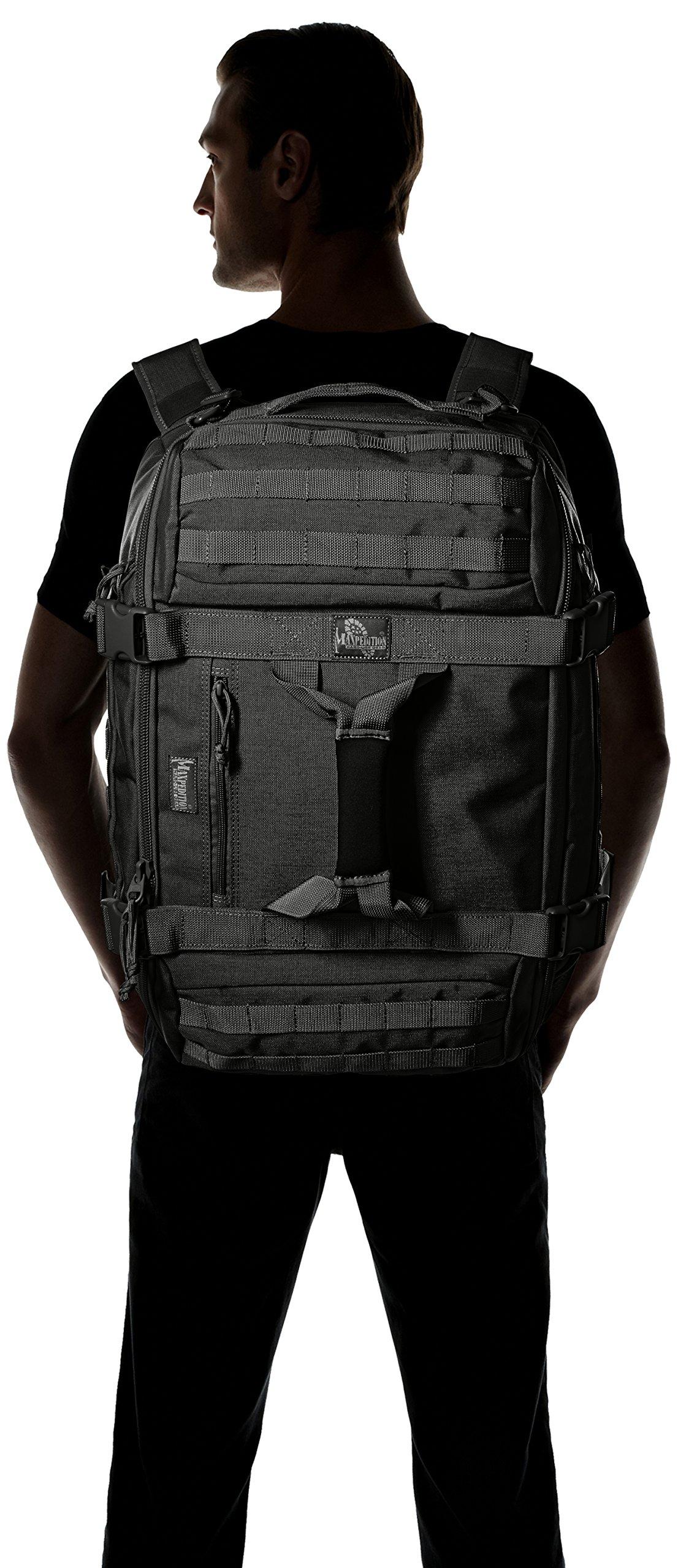 Maxpedition Fliegerduffel Adventure Bag, Black