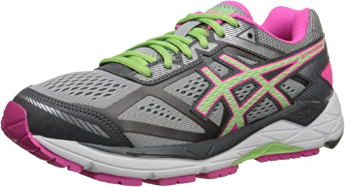 roble Preservativo perrito  ASICS Women's Gel-Foundation 12-W, Silver/Pistachio/Pink Glow, 6 M US |  Road Running - Amazon.com
