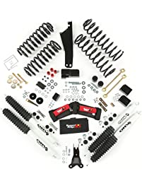 "Rugged Ridge 18415.50 ORV 2.5"" - 3.5"" Suspension Lift Kit with Shocks for 07 Up Wrangler JK 2 Door and 4 Door"