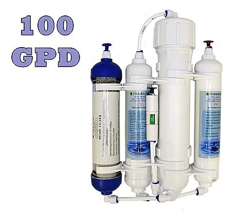 finerf ilters ósmosis inversa de filtro, de 4 niveles, compacto, con Di de