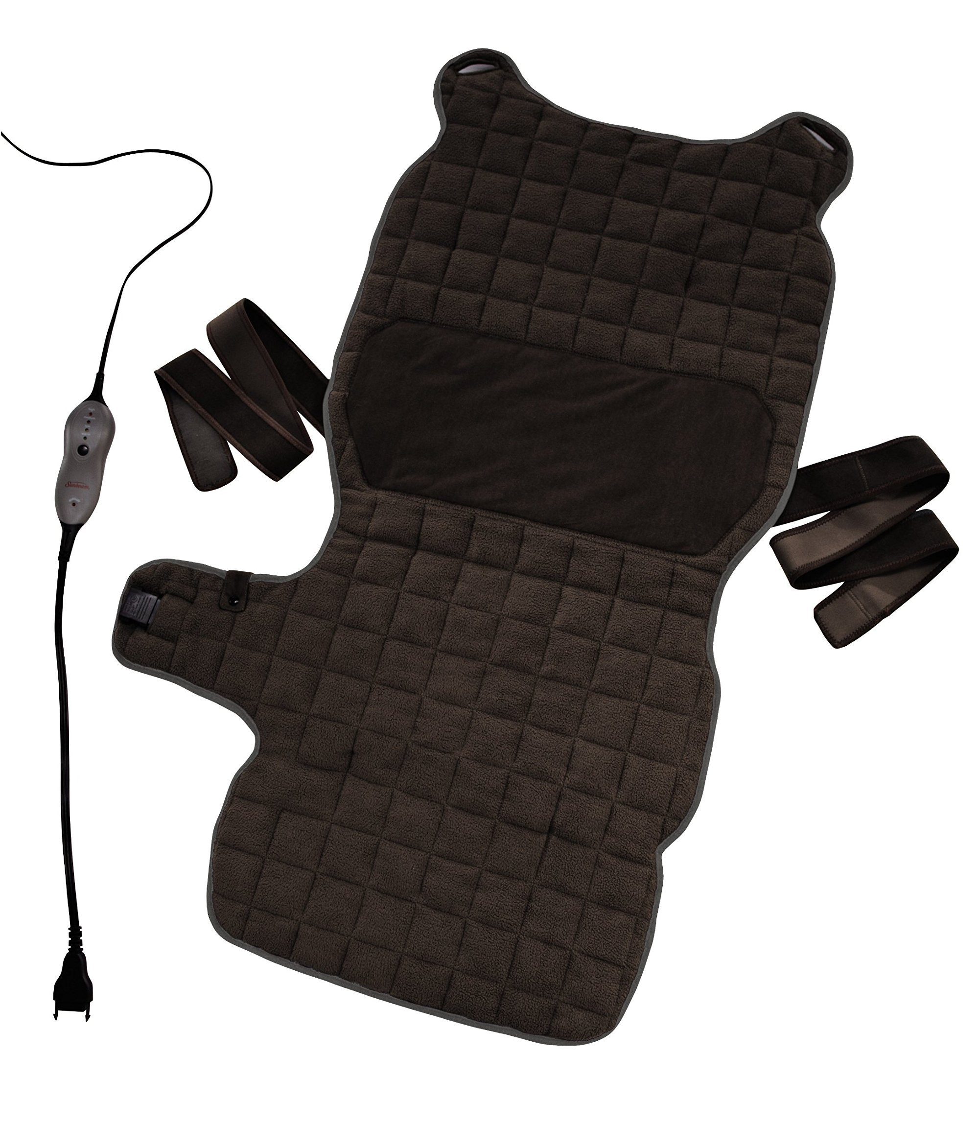 Sunbeam Renue Back and Body Warming Pad, Brown by Sunbeam