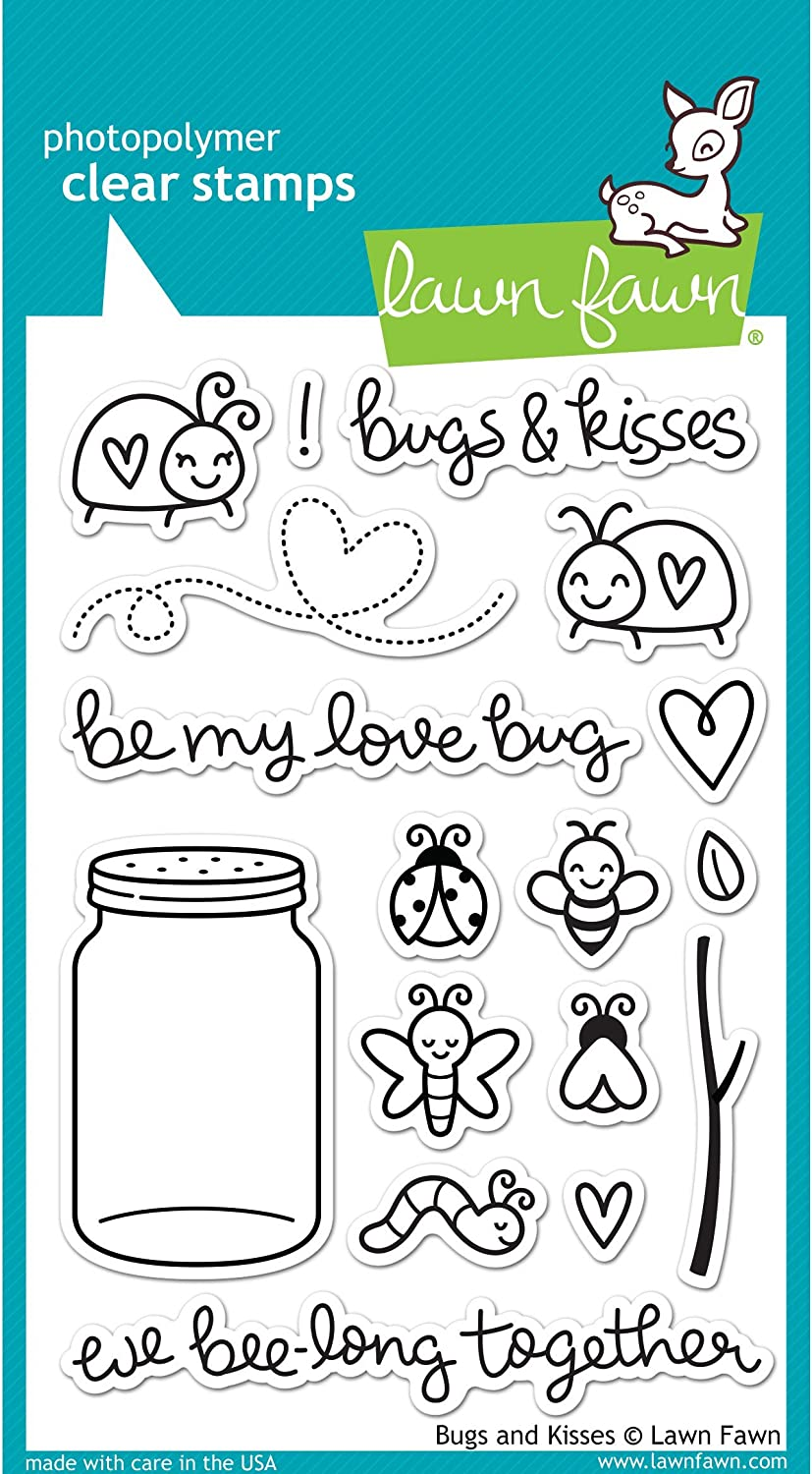 "Lawn Fawn Clear Stamps 4/""x6/""-baked With Love"