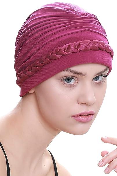 Cappello Davanti Treccia per la Perdita di Capelli (Azalea)  Amazon.it   Abbigliamento 96019f8f2df5