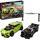 LEGO Speed Champions Lamborghini Urus ST-X and Lamborghini Huracán Super Trofeo EVO 76899 Building Kit