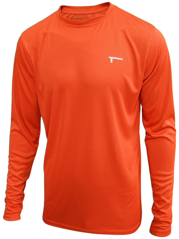 Tren herren cool ultra lightweight polyester ls tee funktionsshirt ...