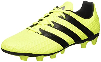 big sale cfe87 66ea9 adidas ACE 16.4 FxG - Chaussures de Football pour Homme, Jaune, Taille 40