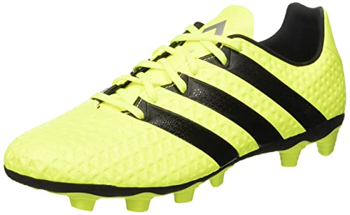super popular 6a8b5 68e42 Adidas Mens Ace 16.4 FxG Syello, Cblack and Silvmt Football Boots - 11 UK