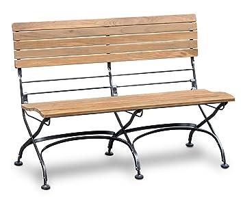 Amazing Jati Garden Bistro Teak Bench 1 2M Outdoor Furniture Patio Lamtechconsult Wood Chair Design Ideas Lamtechconsultcom