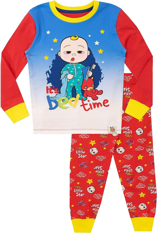 Cocomelon Pijamas para Ni/ñas Ajuste Ce/ñido
