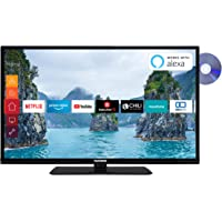 Telefunken XH32G511D 81 cm (32 Zoll) Fernseher (HD-Ready, Triple-Tuner, Smart TV, Prime Video, DVD-Player)