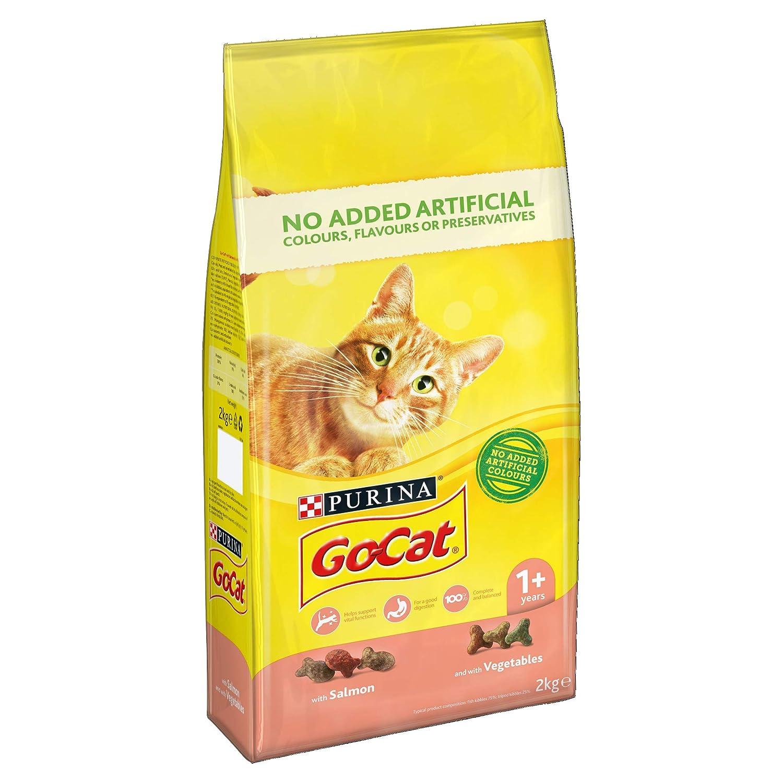 Go-Cat Alimento para Gato Completo: Amazon.es: Productos ...