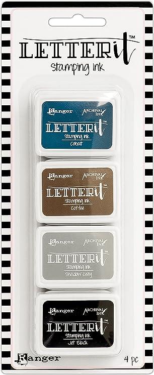 Ranger Wendy Vecchi Mini Ink Pad Kit 3 Synthetic Material 20.3 x 8.3 x 1.8 cm Multi-Colour