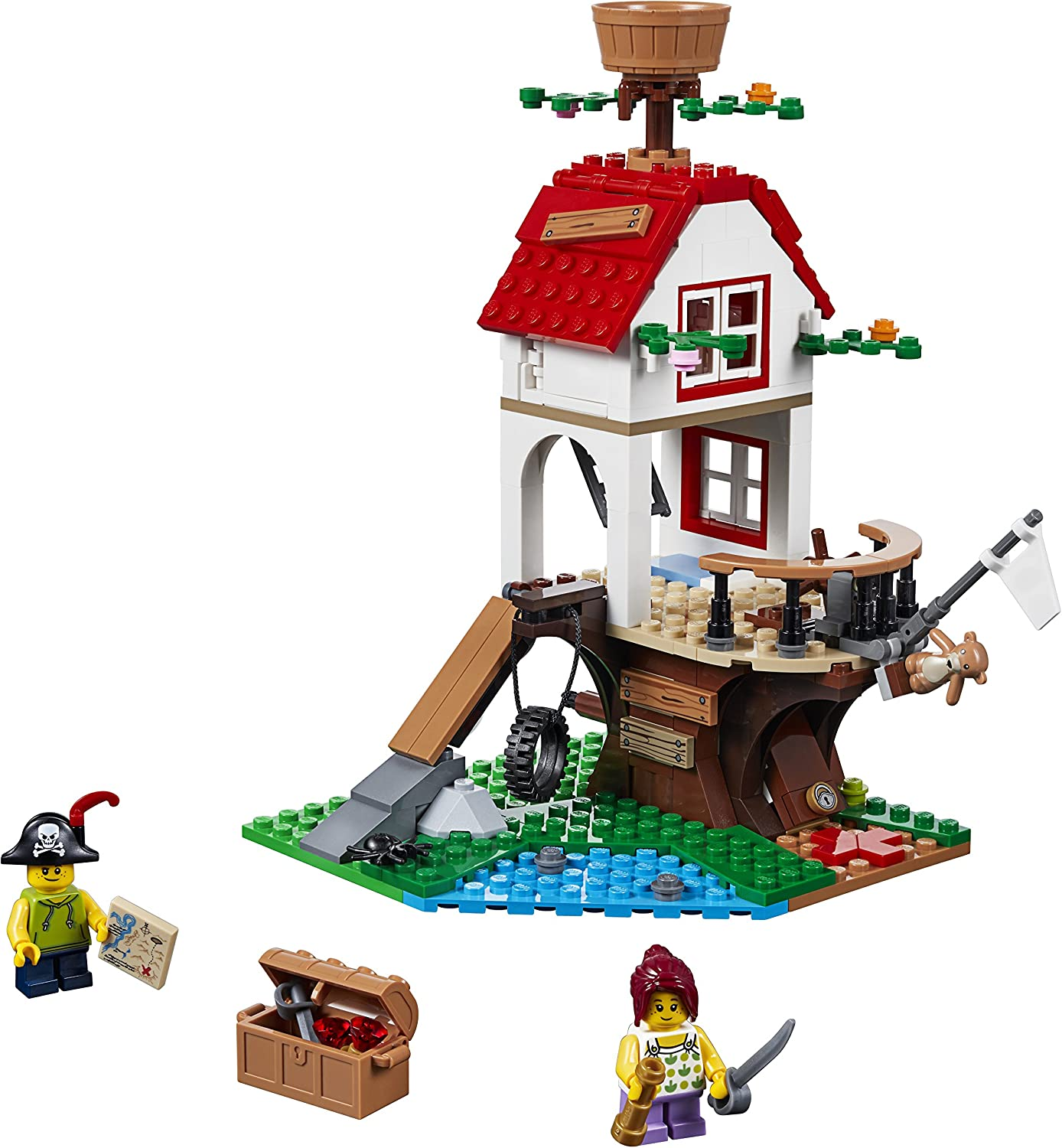 LEGO Creator Tree House Treasures with Pirate Ship (Creator Treehouse Treasures)