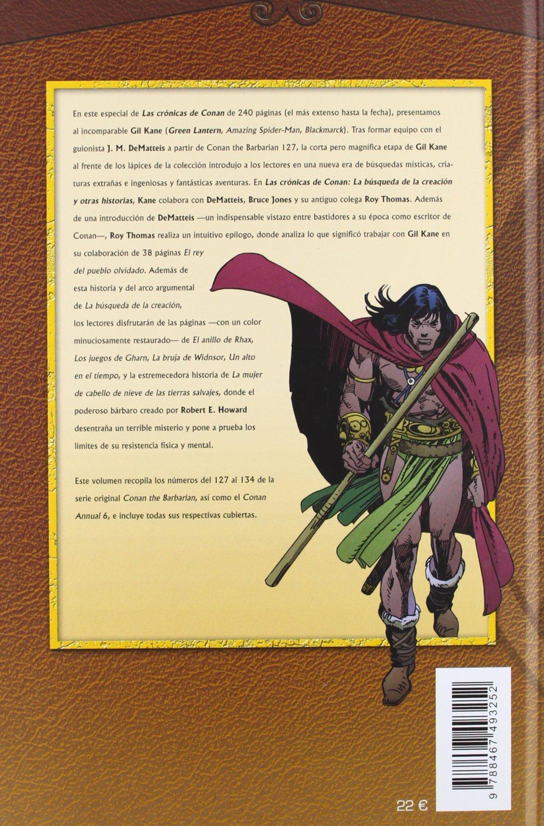 Crónicas de Conan: La búsqueda de la creación 17: Roy (1940 ...