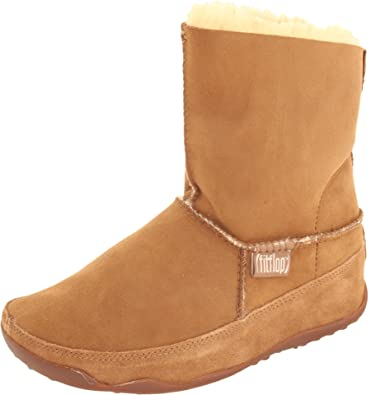 0925363b2ab496 Fitflop The Original Mukluk Women s Boots (Chestnut) Size 8-8 ...